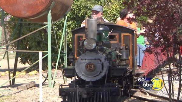 Reedley Railfest experience the 1800's