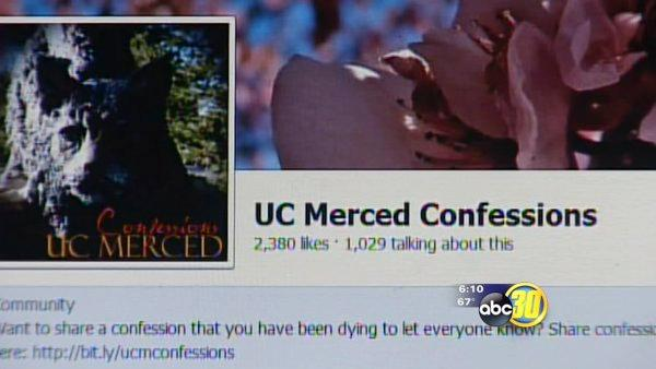 UC Merced students are making Facebook confessions