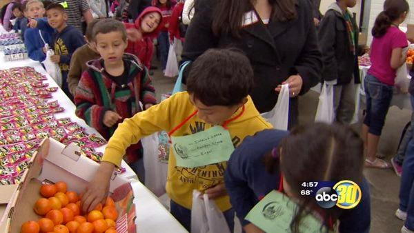 Valley students learn about nutrition and agriculture