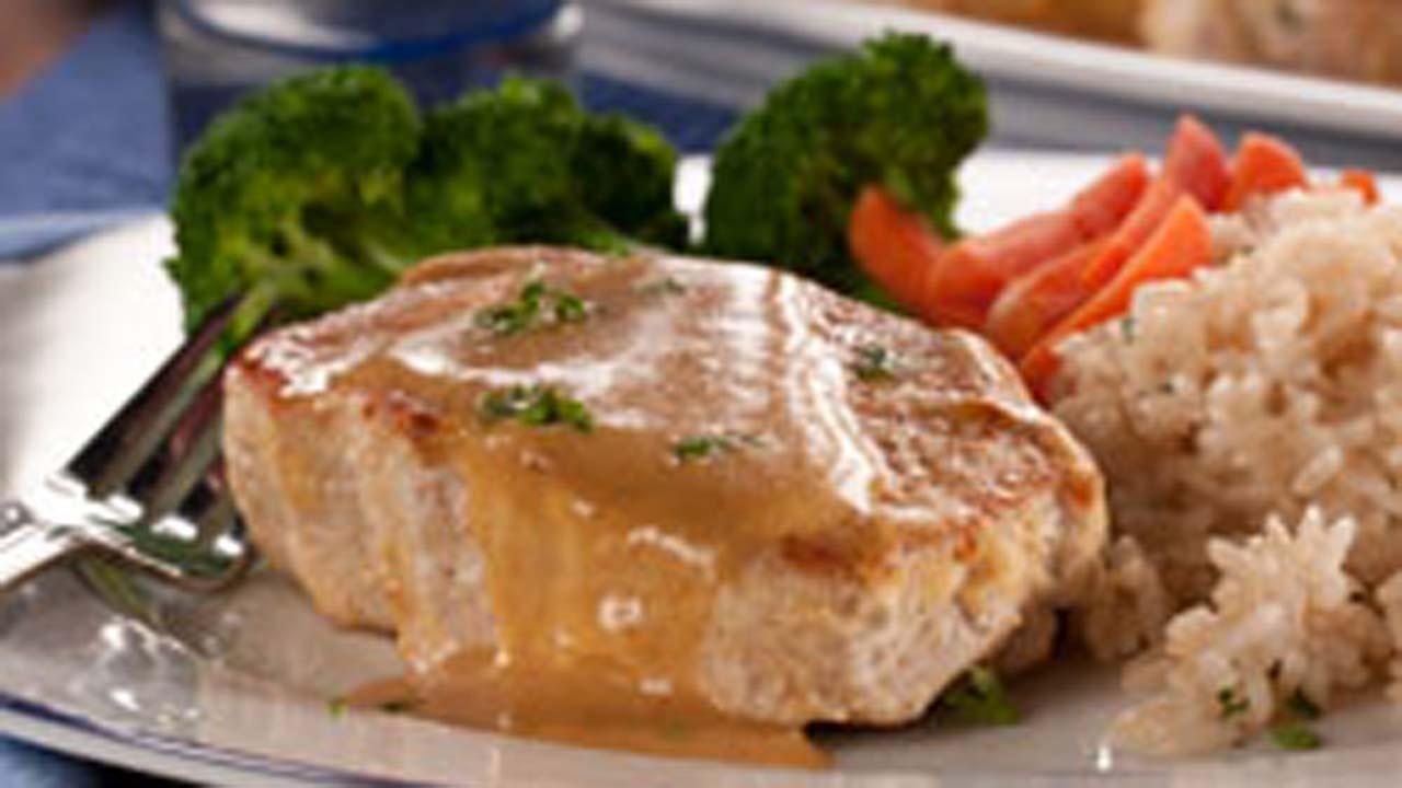 15-Minute Glazed Pork Chops
