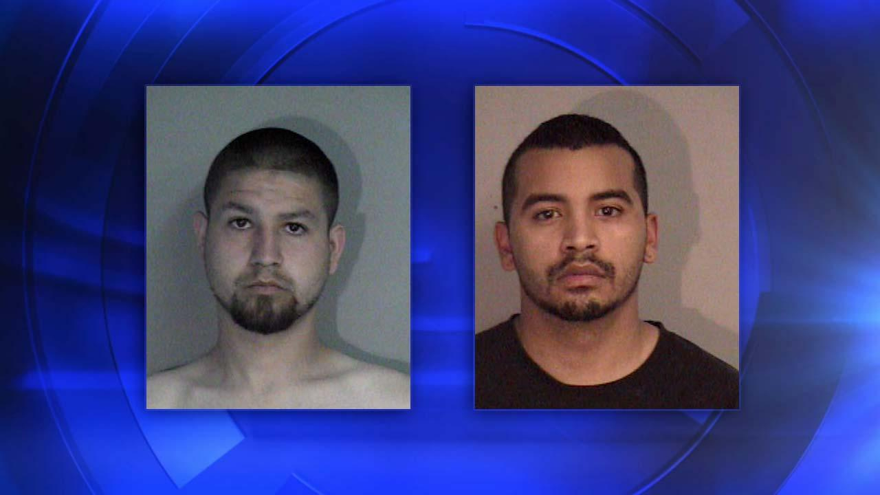 Madera County Sheriffs Department arrested 23-year-old Antonio Michael Ybarra and 20-year-old Jose Pulido-Perez in Chowchilla