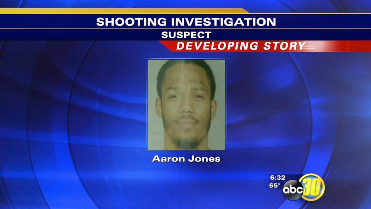 Shooting suspect Aaron Jones