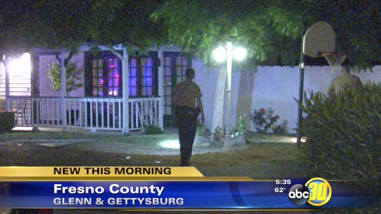 Authorities investigate a Fresno County pipe bomb explosion