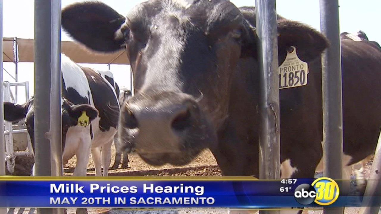 Milk price meeting in Sacramento