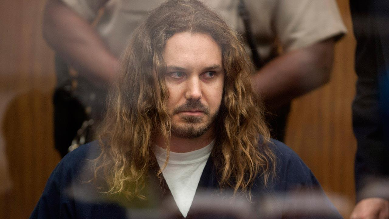 Tim Lambesis, 32, front man for the Christian-inspired heavy metal group As I Lay Dying, appears in Vista Superior Court in Vista, Calif. on Thursday, May 9, 2013
