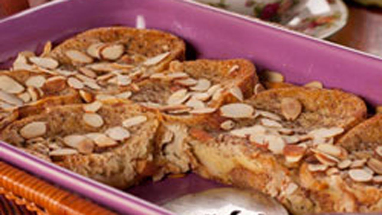 Almond French Toast Bake