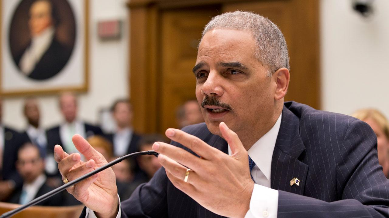Attorney General Eric Holder, the nations top law enforcement official, testifies on Capitol Hill in Washington, Wednesday, May 15, 2013, before the House Judiciary Committee oversight hearing on the U.S. Department of Justice.