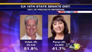 Hanford farmer Andy Andy Vidak wins the California 16th State Senate District seat with 51.9 percent of the votes