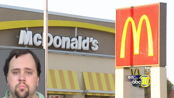 Selma man caught downloading child porn at a McDonald's