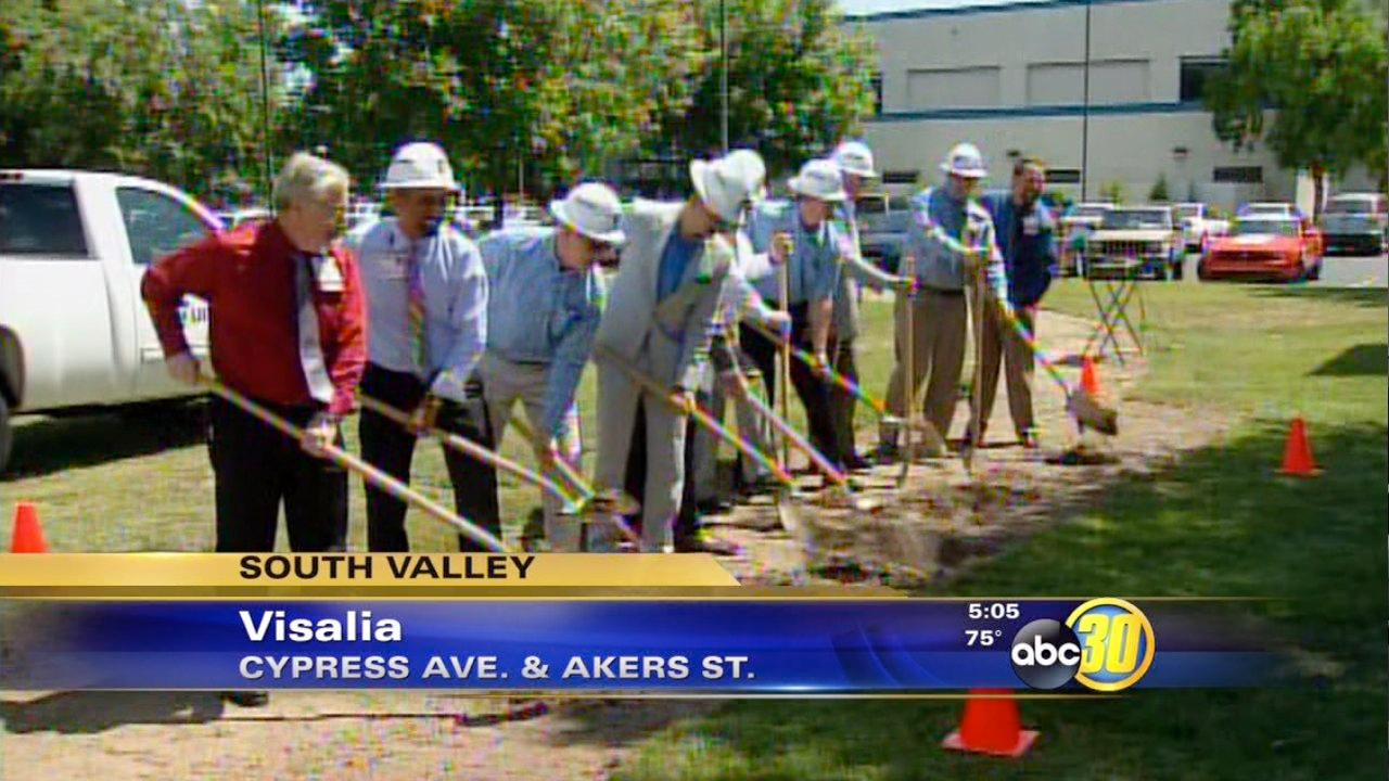 New medical center breaks ground in Visalia