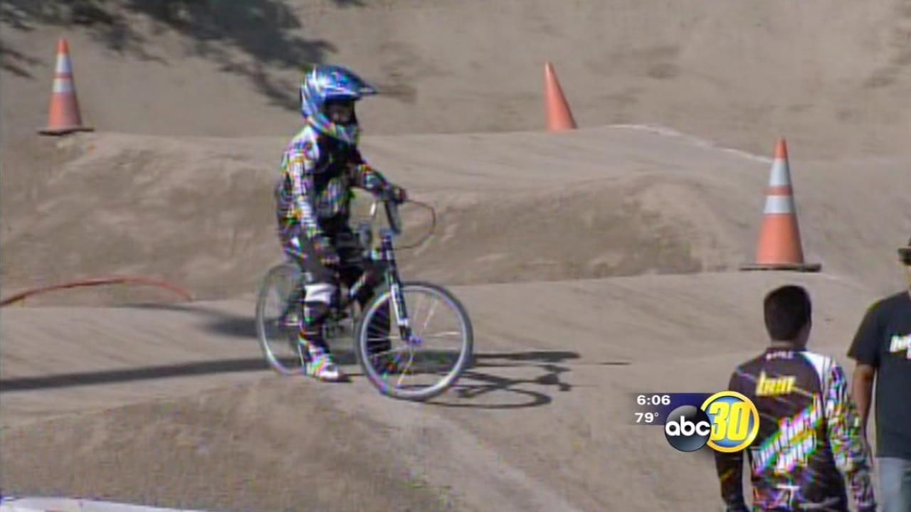 Hanford BMX racers raise money for cancer research