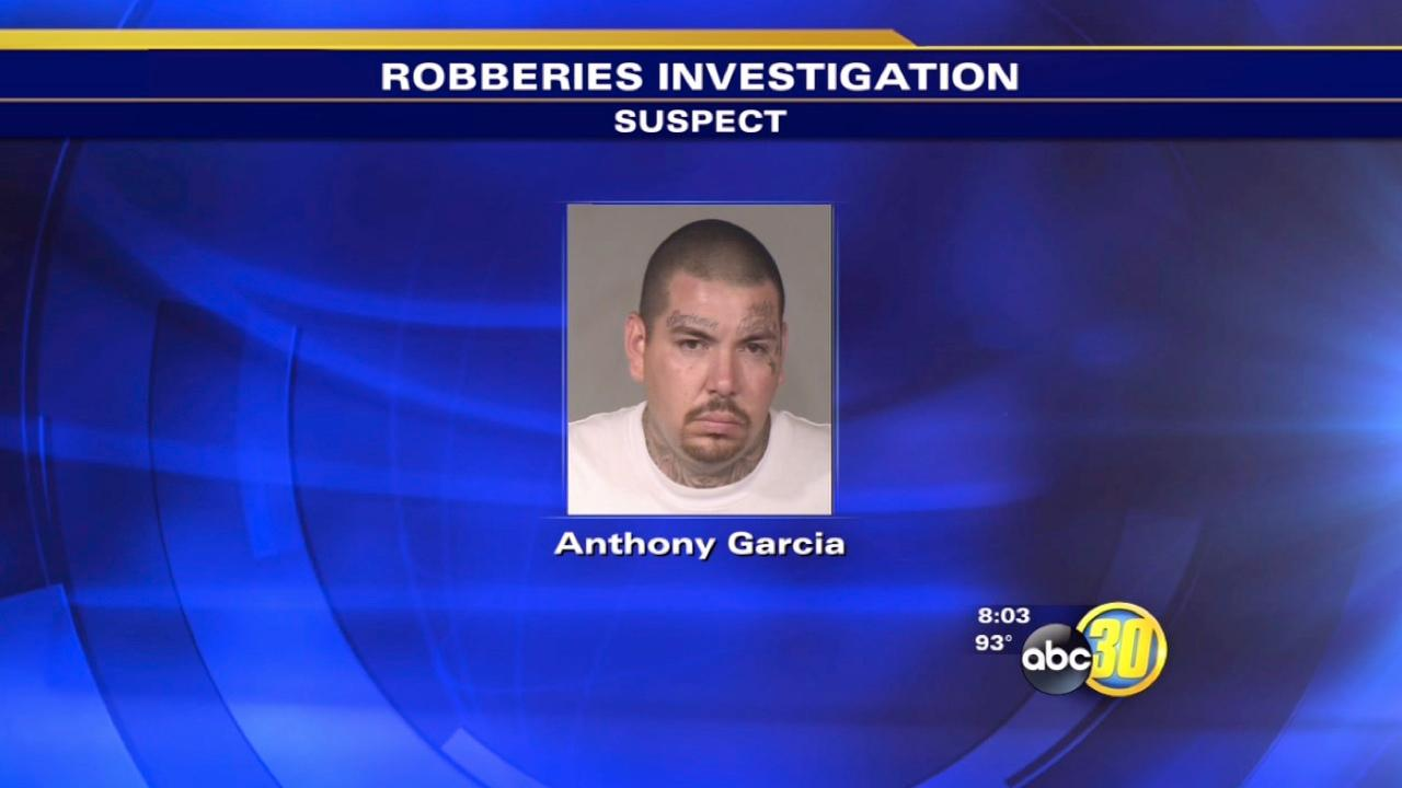 Man accused of Central Fresno robberies caught