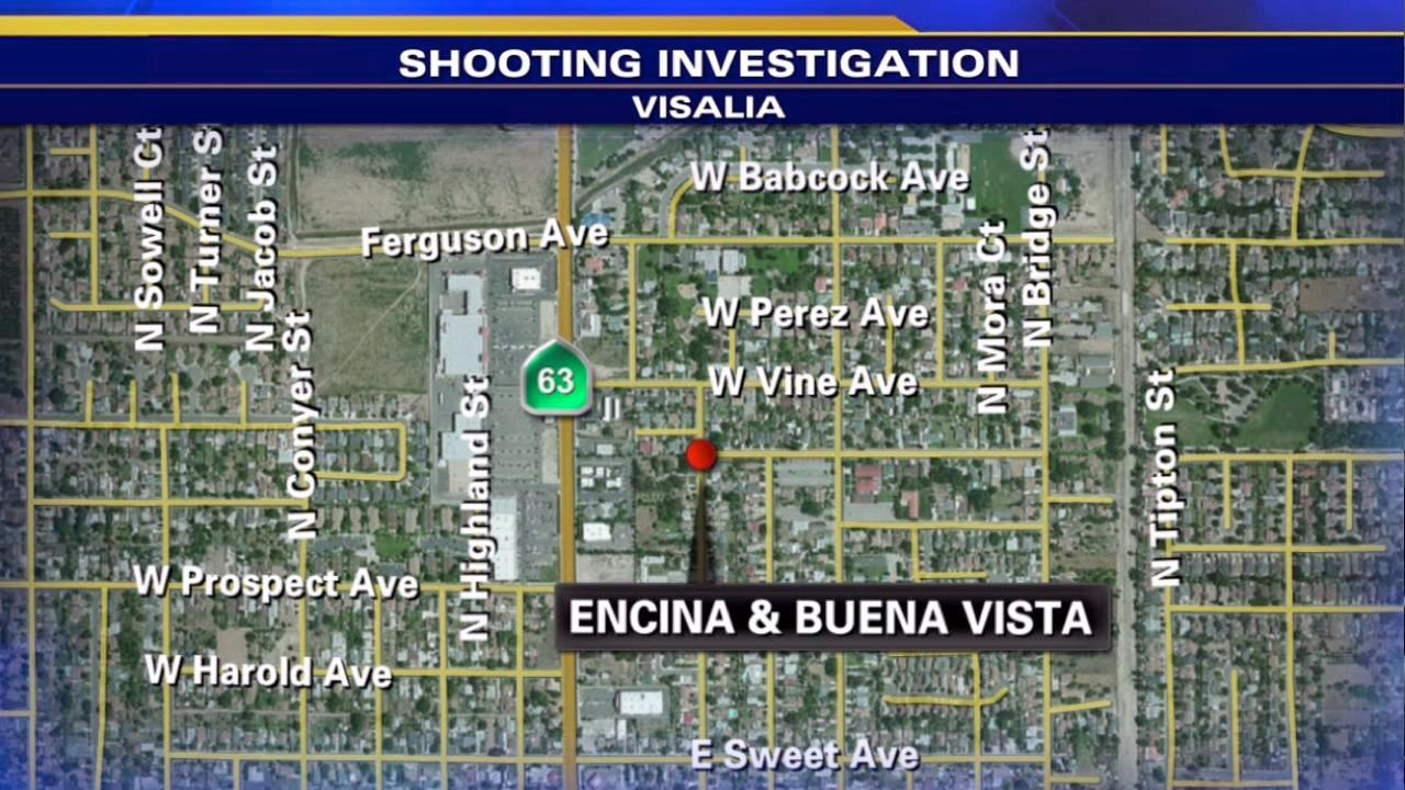 Two teens shot in Visalia drive-by