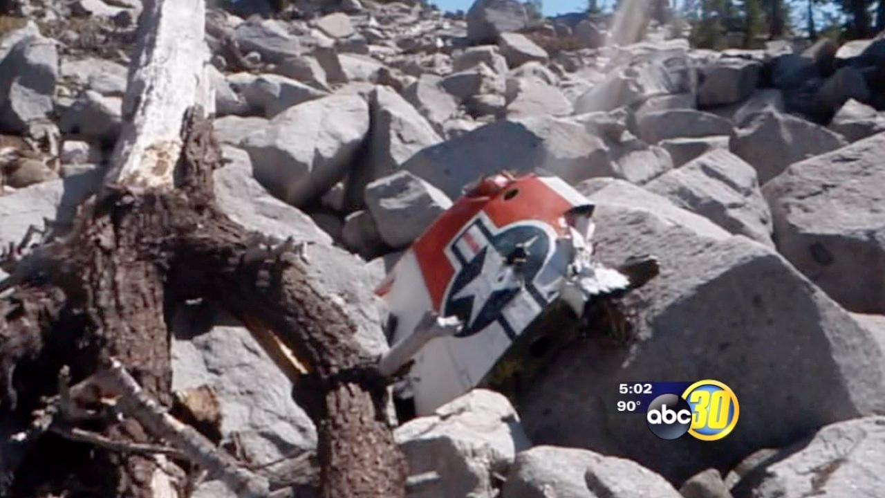 Hiker who found plane crash meets lived survivor