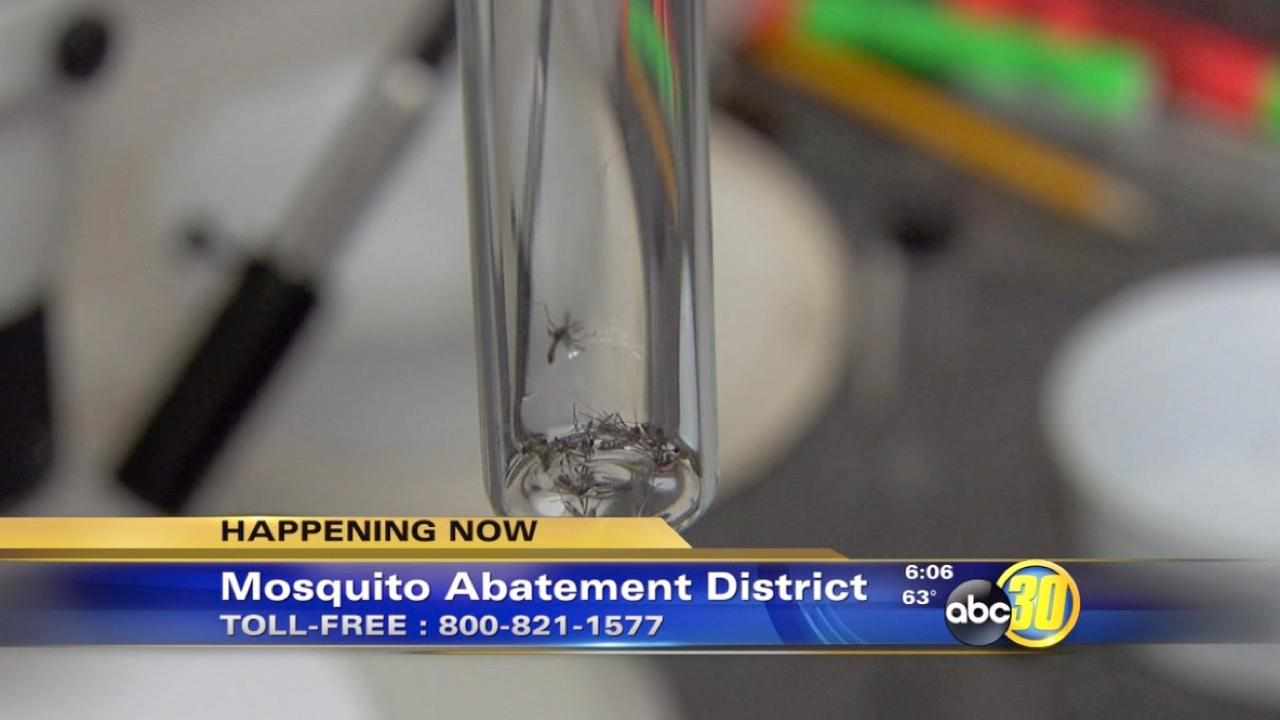 Mosquito Abatement District sprays for mosquitos