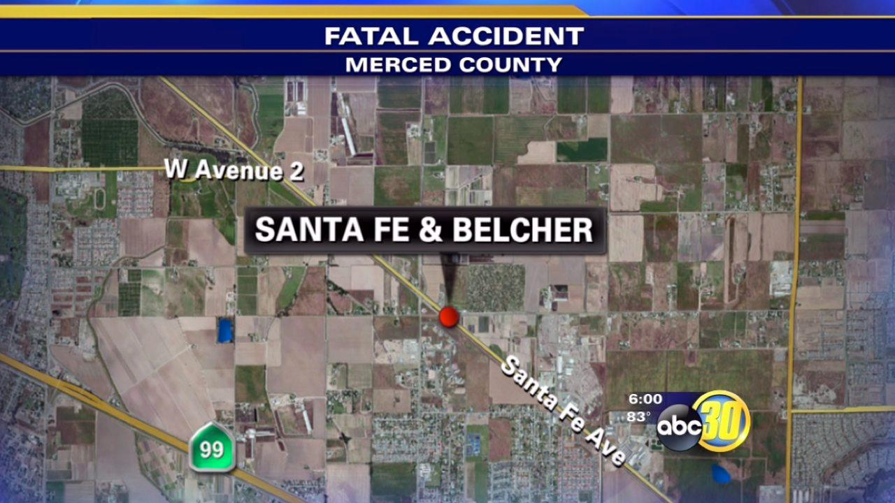 2 dead after head on crash in Merced County