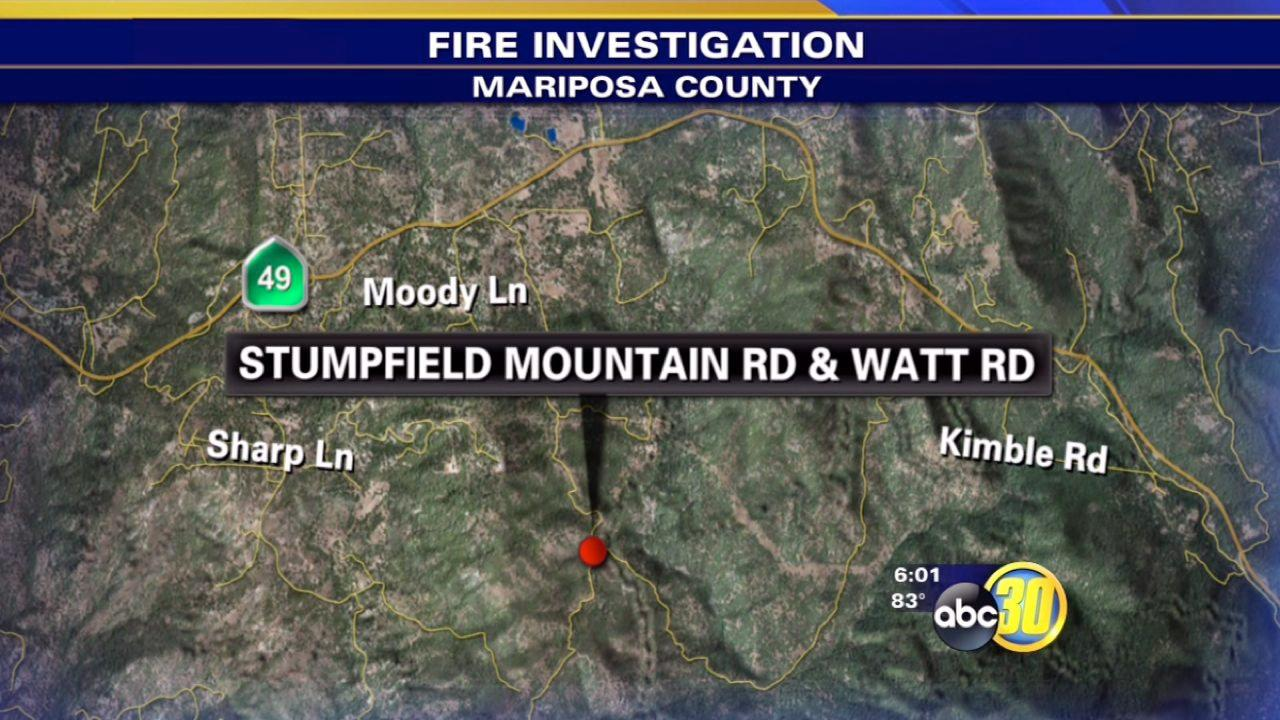 Stumpfield Mountain Road fire 75 percent contained
