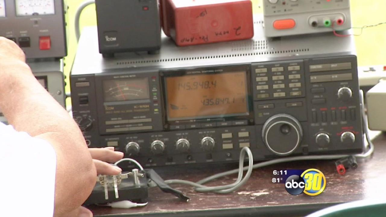 Field day for Fresno's Amateur Radio Club