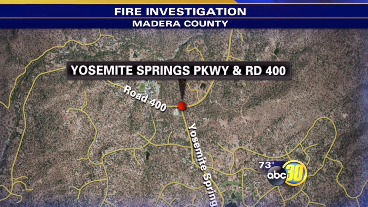 Yosemite Springs Parkway 50 percent contained