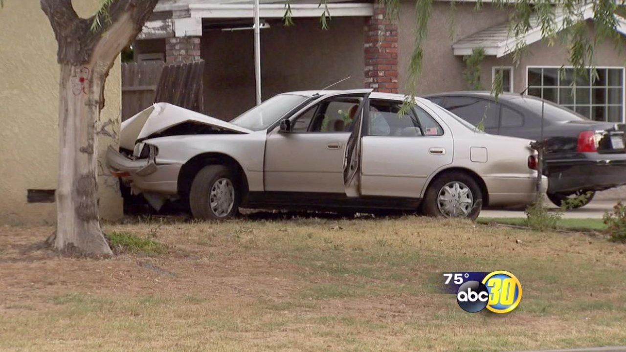 Gas leak forces evacs after car crashes into home