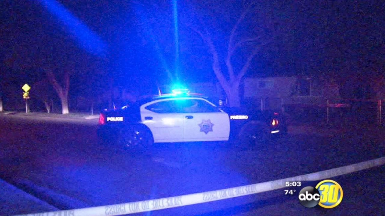 Fresno Police search for drive-by shooting suspect