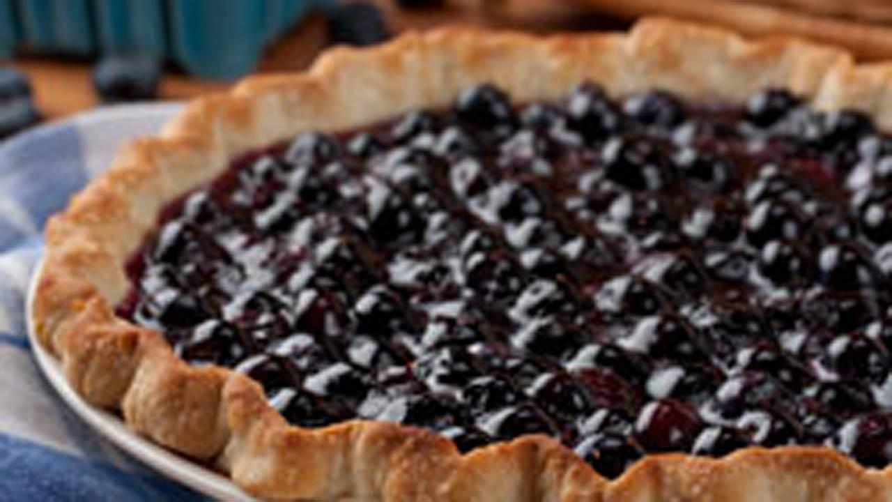 Awesome Blueberry Pie
