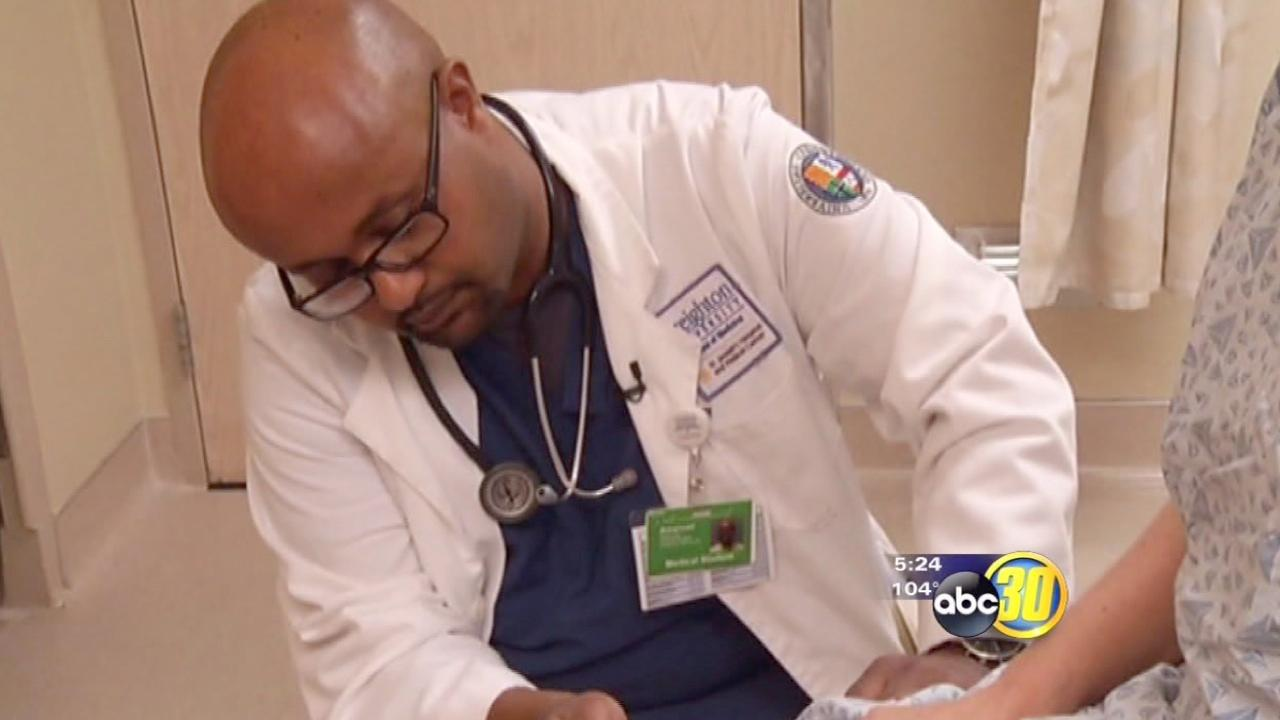 New physicians get taught bedside manners