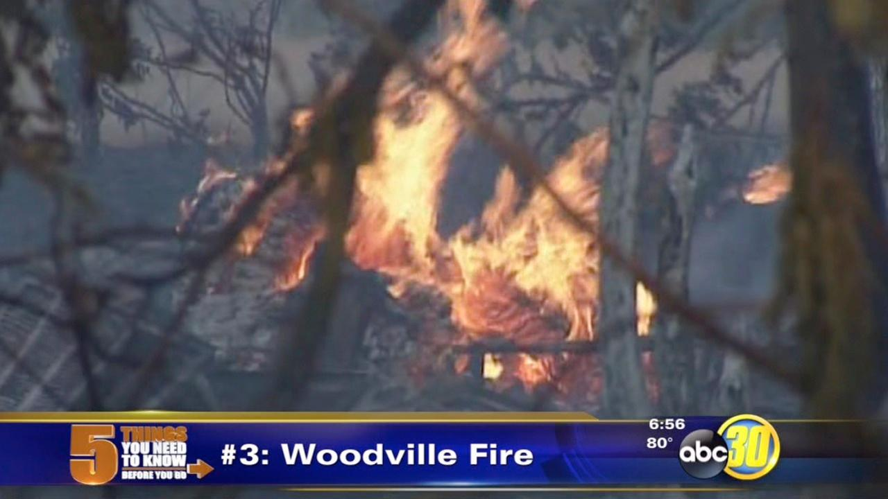 Grass fire destroys mobile home in Woodville