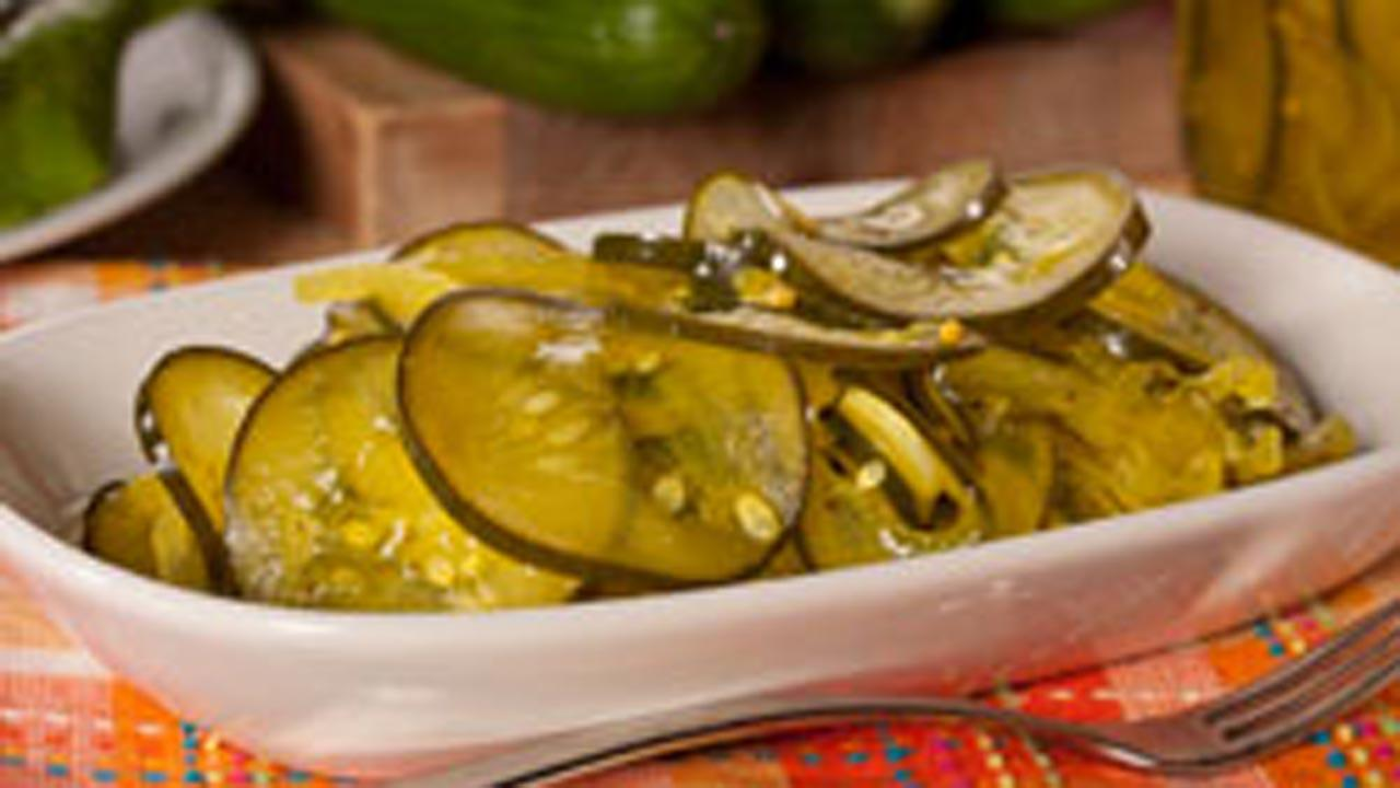 Homemade Microwave Pickles