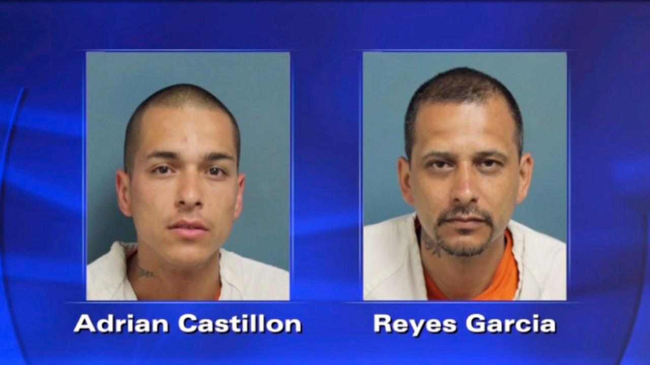 Visalia police release mug shots in double murder