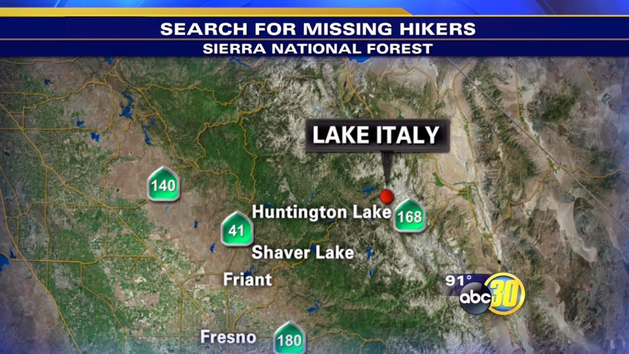 Four female hikers missing 20 miles northeast of Huntington Lake