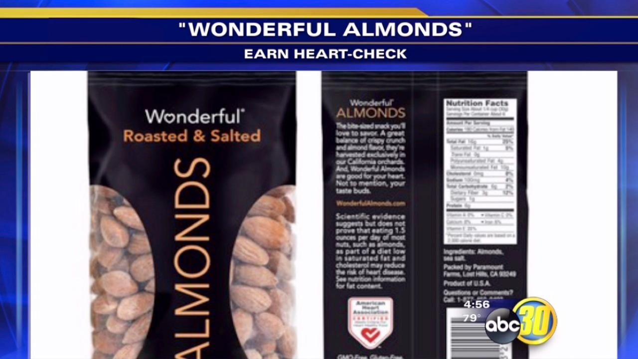 Wonderful Almonds gets heart check mark
