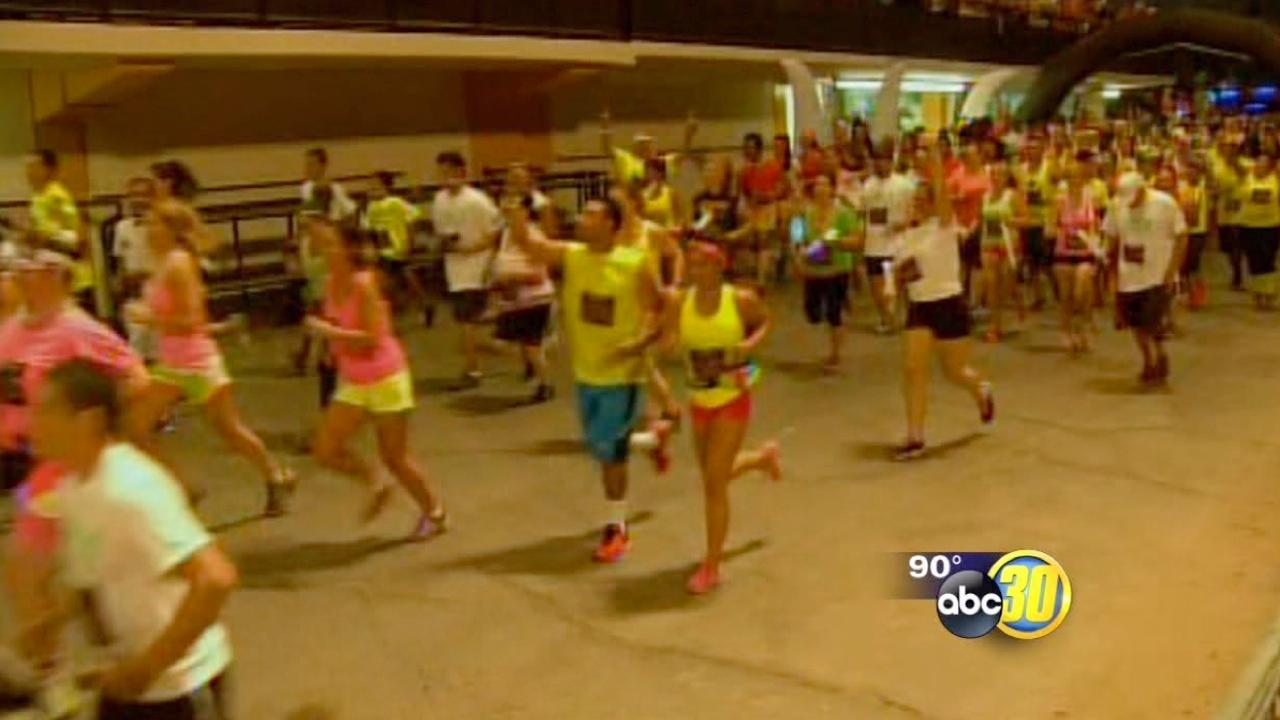 Neon Night Run aims to raise money for Make-A-Wish Foundation
