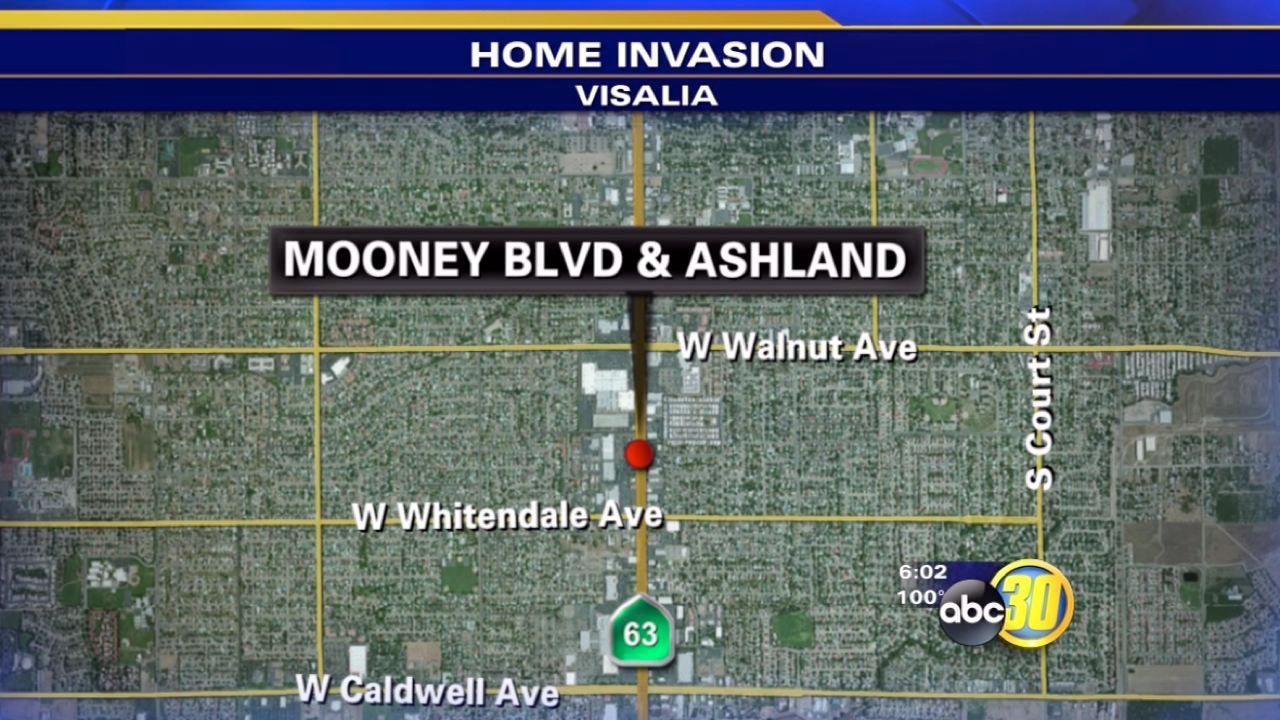Visalia man pistol whipped during home invasion