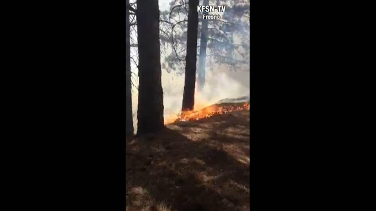 Video of the Aspen Fire - Taken on Friday, July 28, 2013Bill White