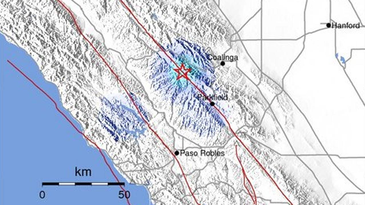 3.6 earthquake strikes near Coalinga