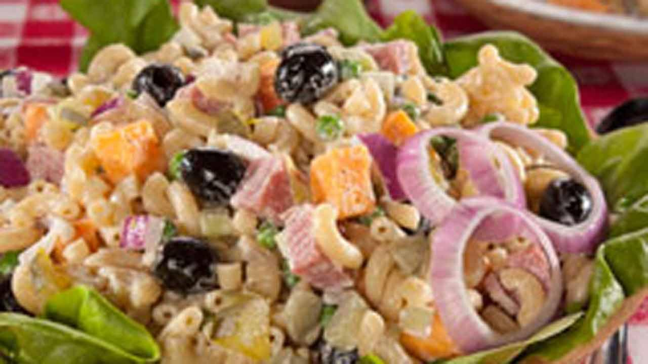 Mr Food Kitchen Sink Macaroni Salad