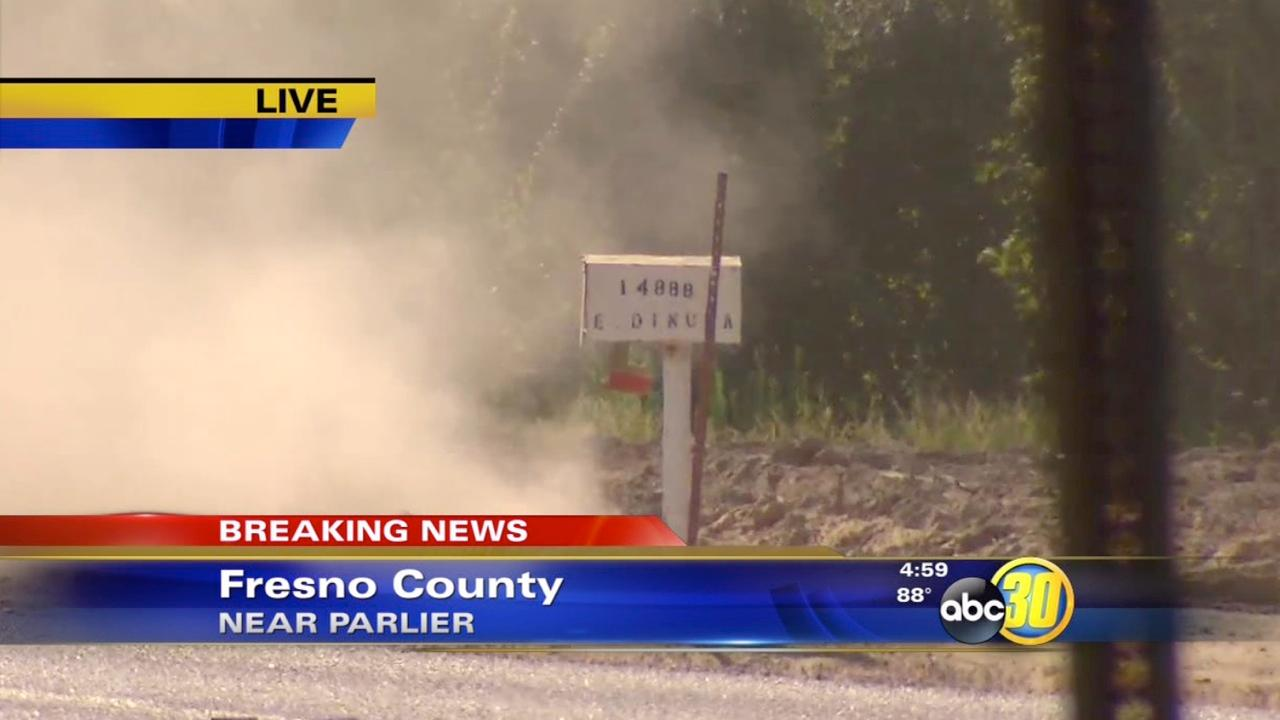 Gas leak South of Parlier causes evacuations