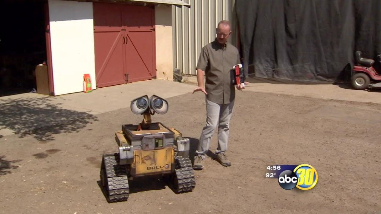 Wall-E Comes to Life in Tulare County