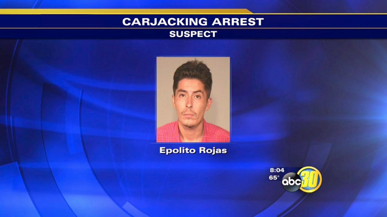 Fresno carjacking suspect arrested