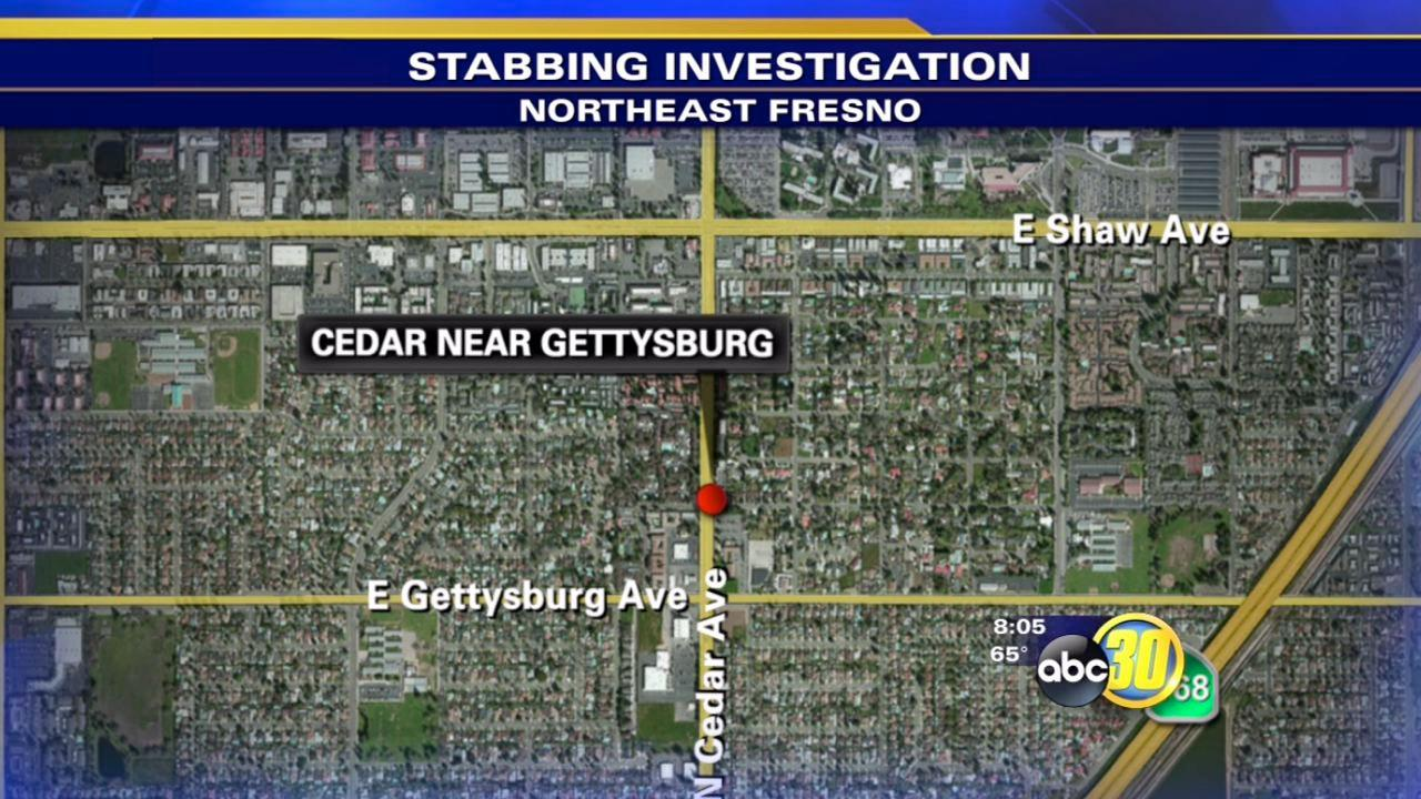 Man stabbed in Northeast Fresno
