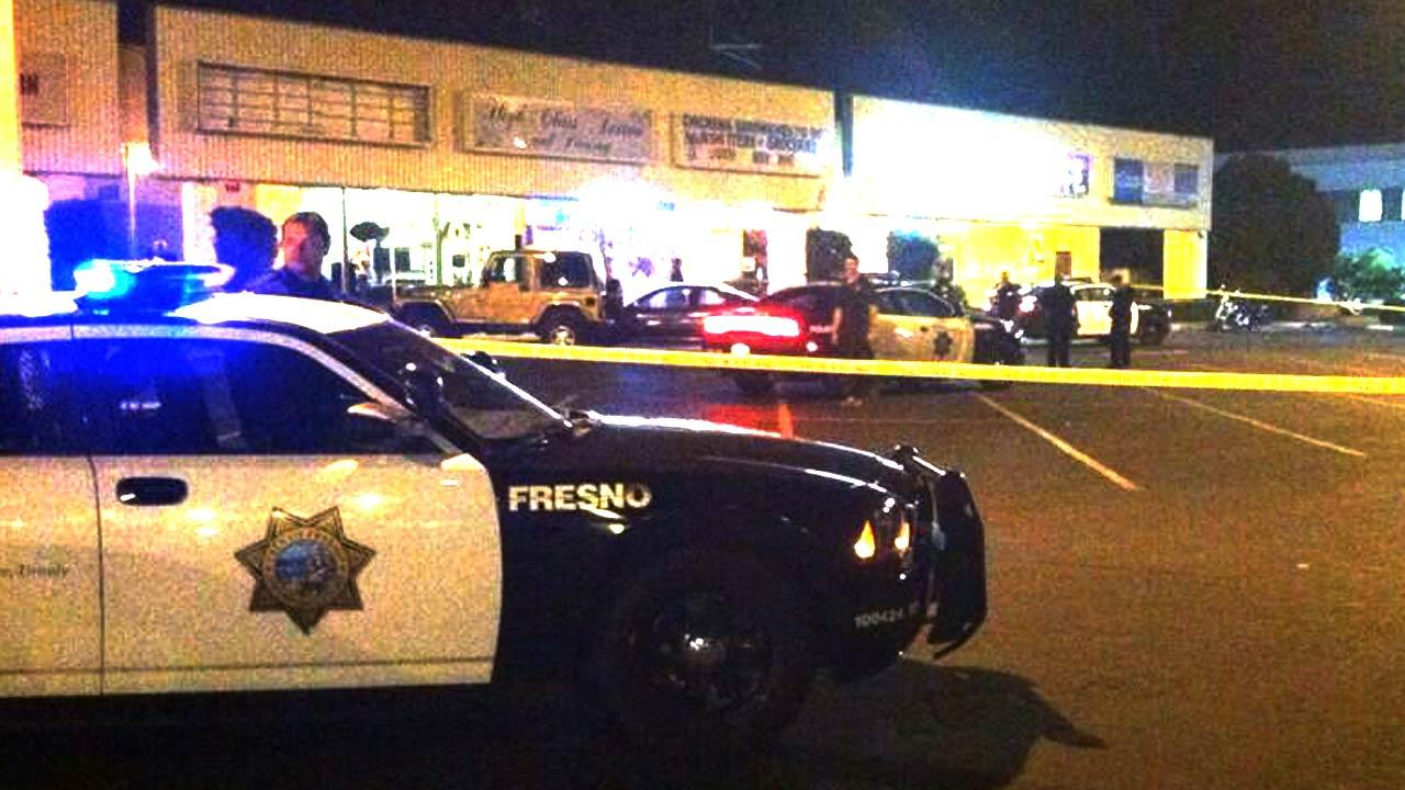 Man stabbed to death outside Ewell's Place in Central Fresno