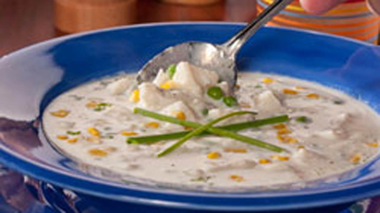 Summer's Best Fish Chowder