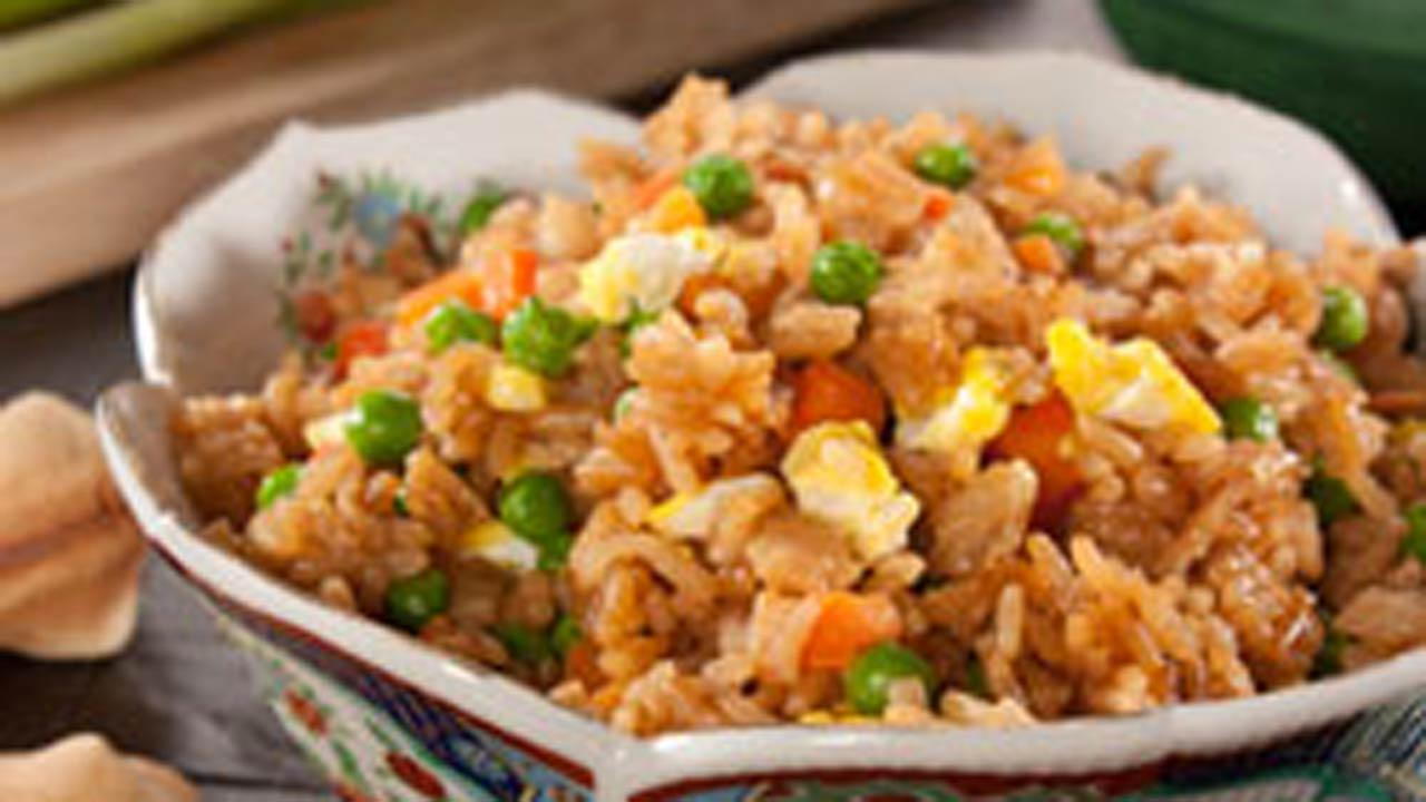 Chopstick Veggie Fried Rice