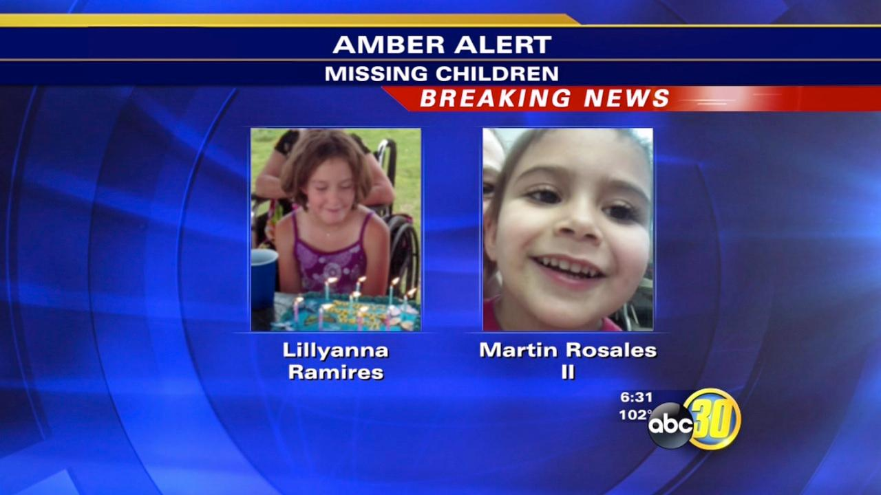 California Highway Patrol issues an AMBER Alert