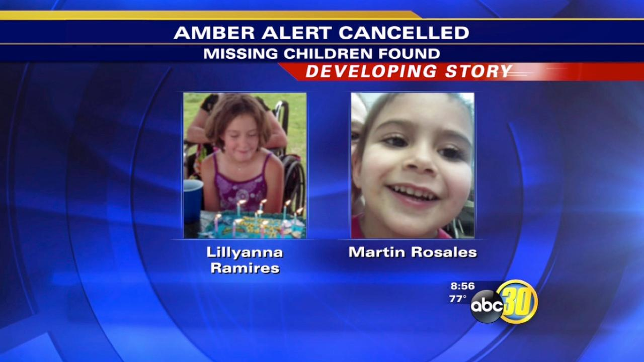 AMBER Alert: Two Nevada children found safe