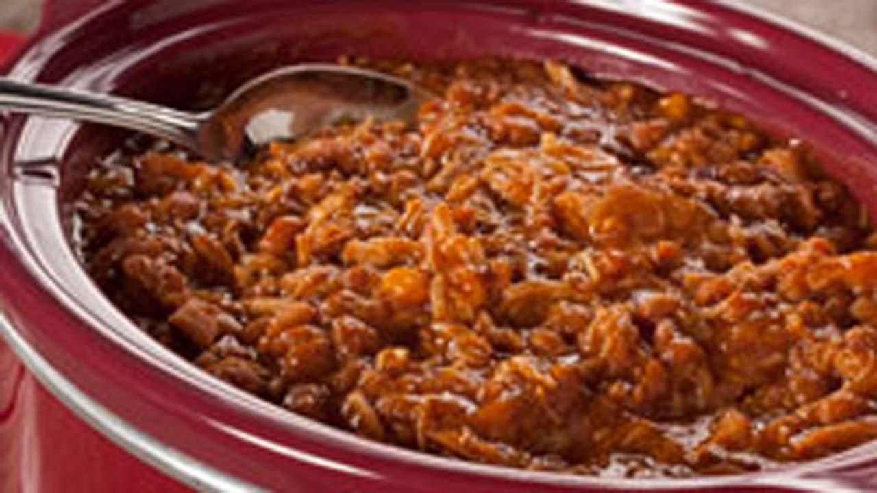 Slow Cooker Pork 'n' Beans