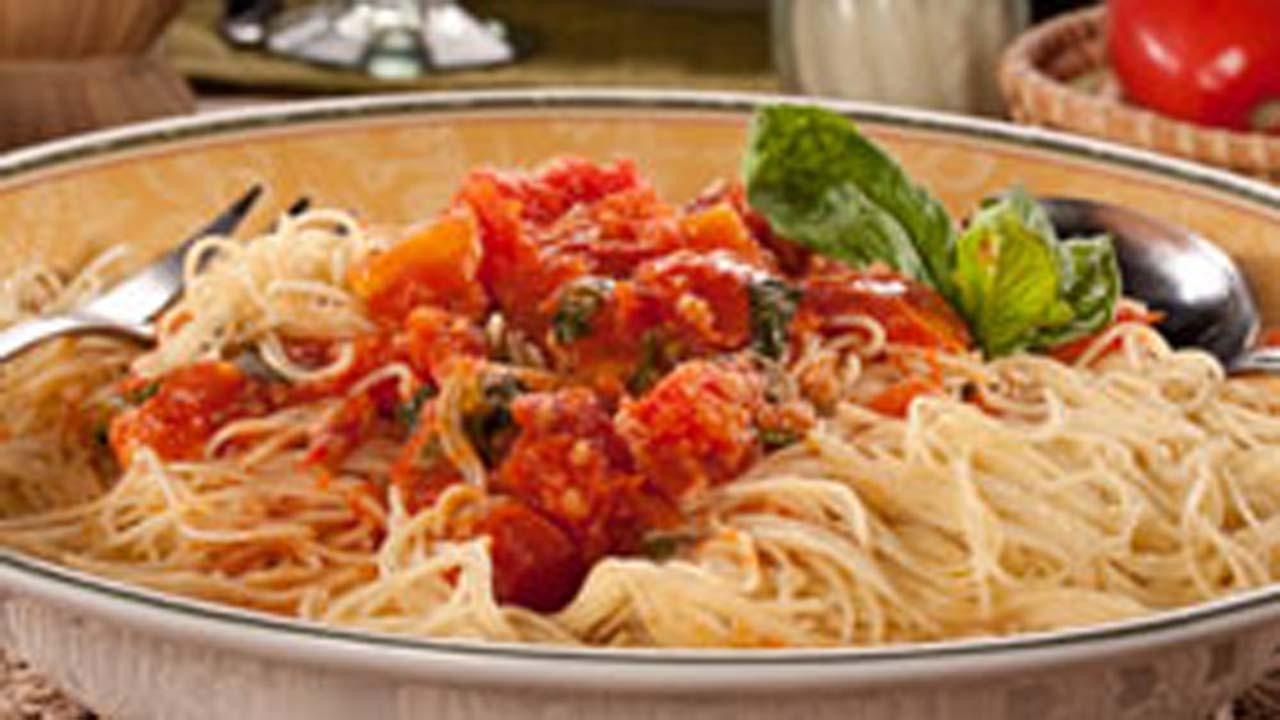 Tomato Angel Pasta