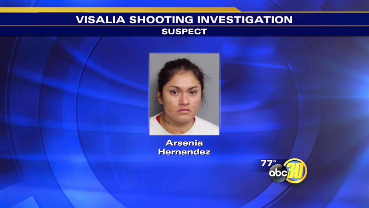 Visalia double shooting suspect arrested