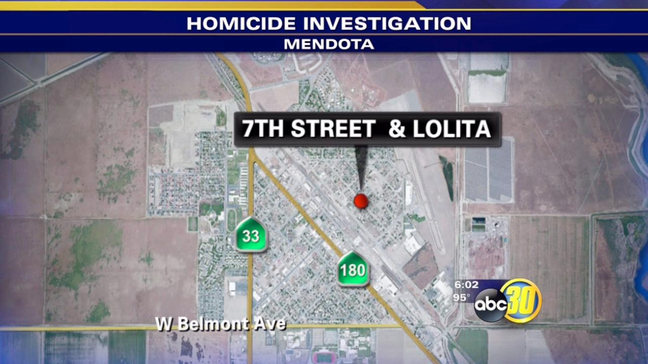Man arrested in first Mendota homicide in two years